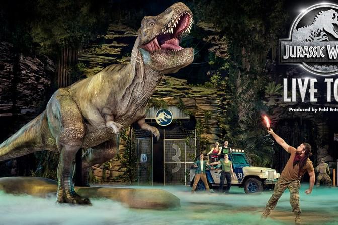 Jurassic Park Live Tour Featured Image