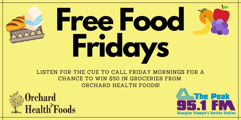 Free Food Fridays