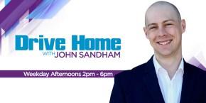 Drive Home with John Sandham