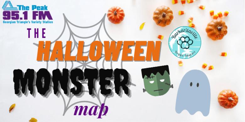 95.1 The Peak's Halloween Monster Map